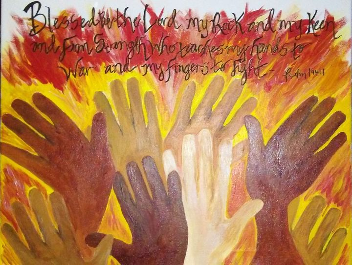 Hands of Praise - Ahmelya'sArt