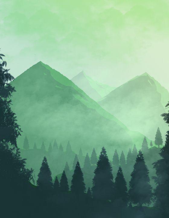 Mist Mountains - Jojo