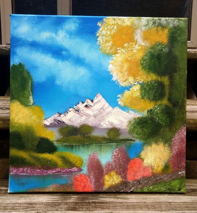 """Landscape Oil """"Piece of mind"""" - SR Artist"""