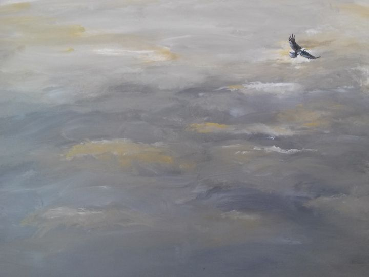 Soaring over Belews Lake - Raymond Reid