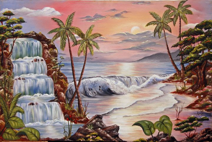 Pink Beach - Olindo
