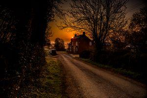 Debdale Lane Sun up