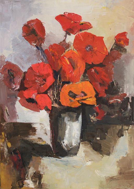 Poppy vase - Ilze Cilinska