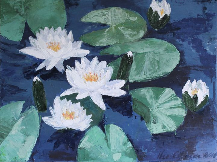 Waterlillies - Ilze Cilinska