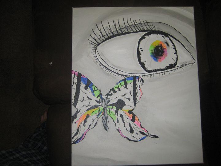 butterfly eye - Katrina Marie