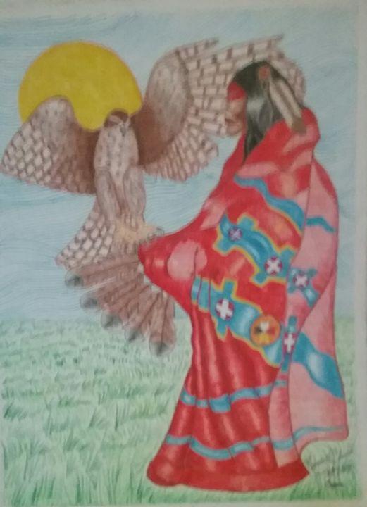Chief Red Blanket - Mi'kmaq Art & Crafts