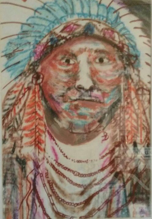 chief in waiting - Mi'kmaq Art & Crafts