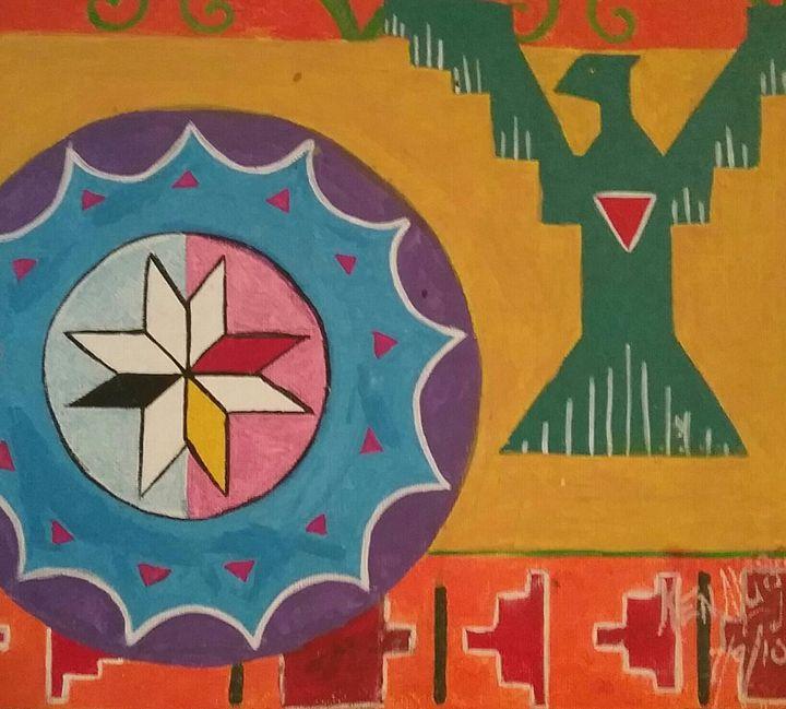 Mi'kmaq star - Mi'kmaq Art & Crafts