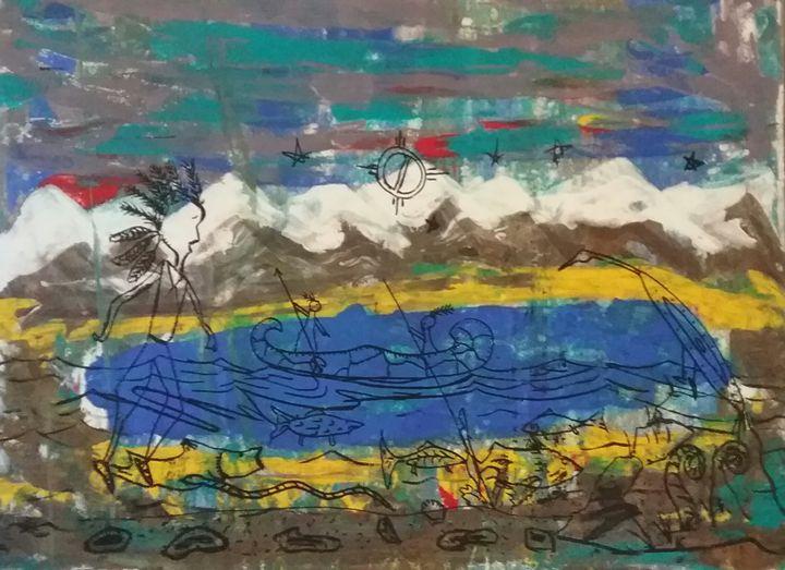 Spirits among the Rockies - Mi'kmaq Art & Crafts