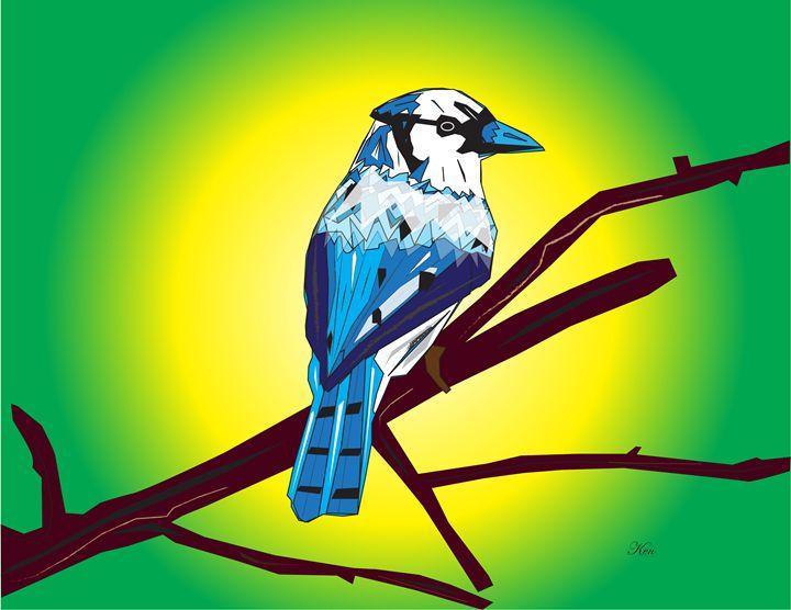 Blue Jay - Kenneth Leon Roberts