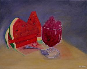 Summer Delight - Simplicity of Art by Iris Forbes