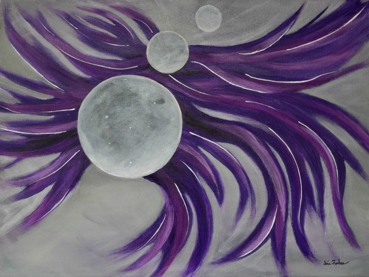 No Rules Moon 3 (series) - Simplicity of Art by Iris Forbes