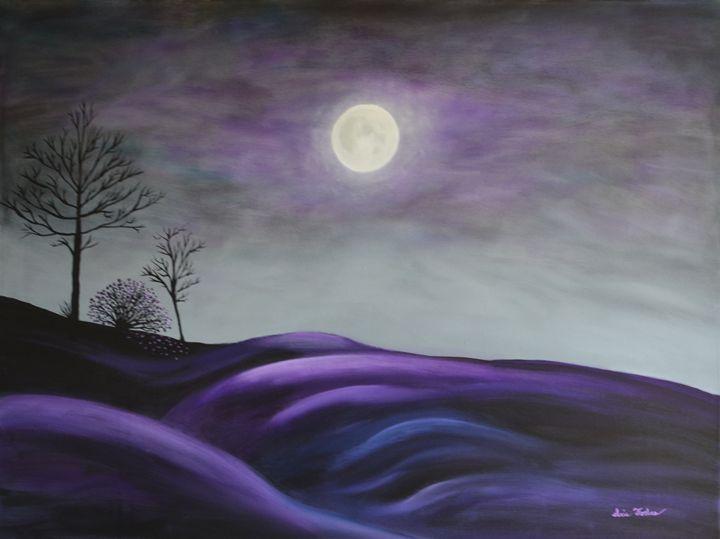 Midnight Light - Simplicity of Art by Iris Forbes