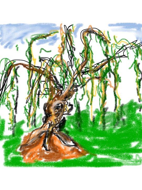 The Messenger Tree - DavidMartinArt