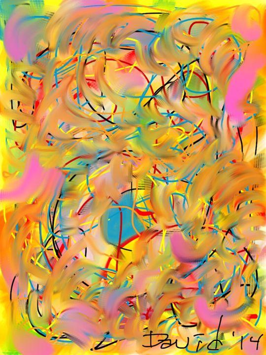 BART XXII -The Center Of The Sky - DavidMartinArt