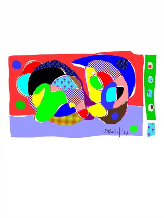 Thursday Abstraction - DavidMartinArt