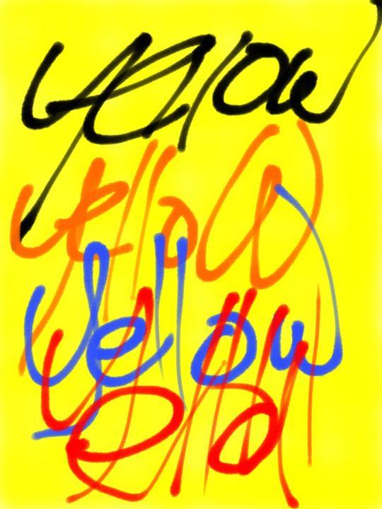 Yellow - DavidMartinArt