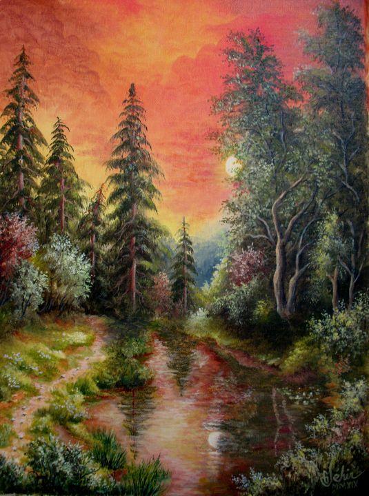The sleeping pond - Gérard JEHIN