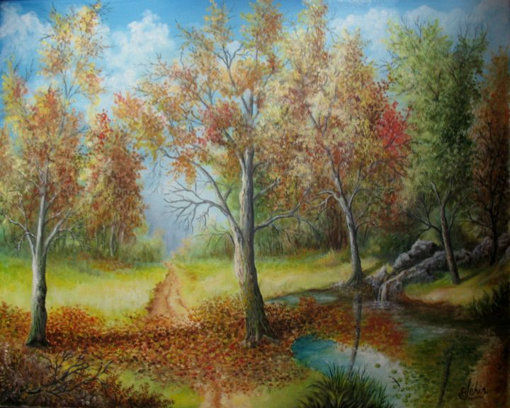 The leaves fall, it's late autumn - Gérard JEHIN