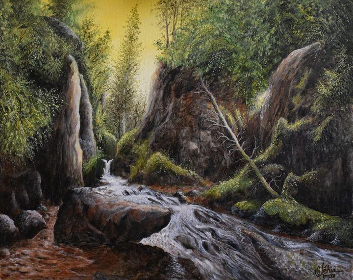 Waterfall in the Vosges - Gérard JEHIN