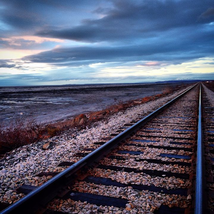 Alaskan railroad - Rayleigh