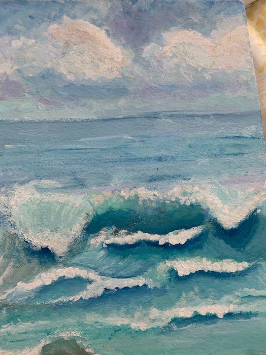 Come and Go in Waves - Ella Romano
