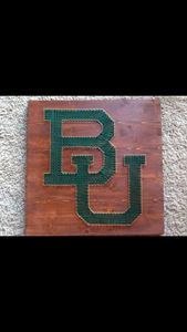 String Art Baylor University Bears