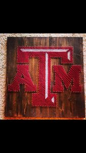 String Art Texas A&M