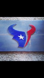 String Art Houston Texans