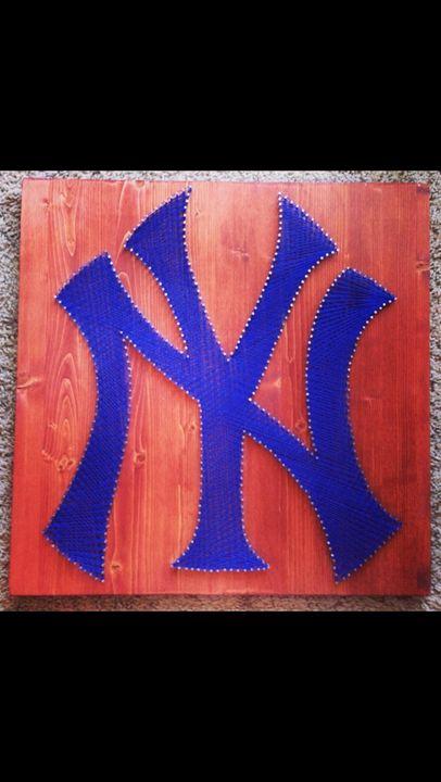 String Art New York Yankees - Things Stringed