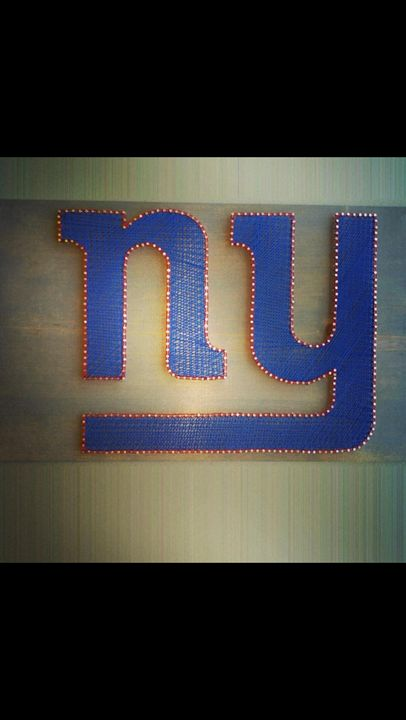 String Art New York Giants - Things Stringed
