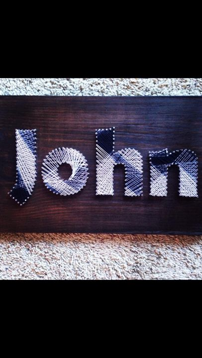 String Art Name - Things Stringed