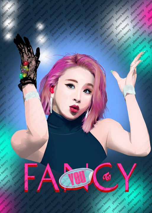 Twice- Son Chaeyoung - Yhern Arts