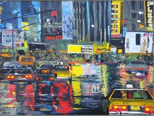 """City after rain"" by Klimov"
