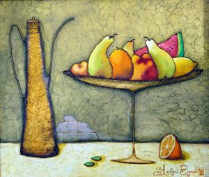 "Original oil painting ""Still life"""