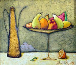 """Original oil painting """"Still life"""""""