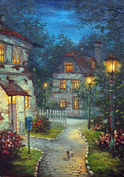 """Fairy night"" - Best artwork"