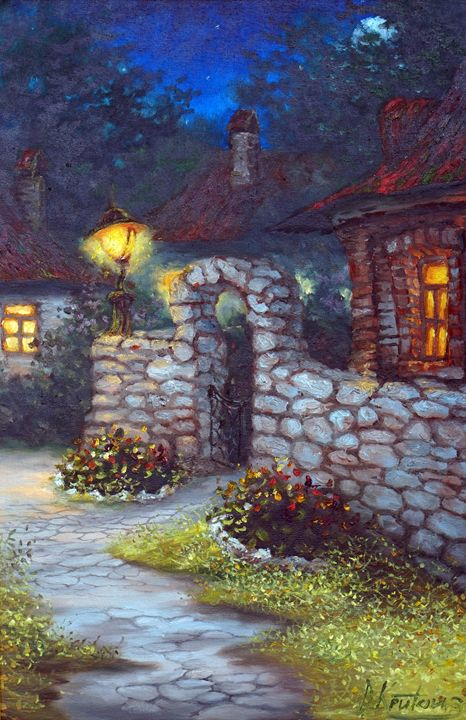 """Fairy night"", D. Kruton - Best artwork"