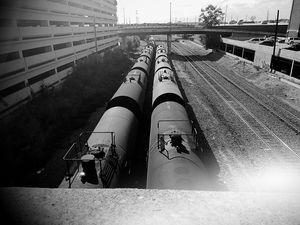 Train going no where