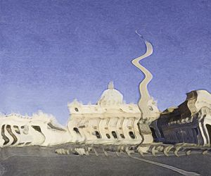 Vatikan - Surreal paint