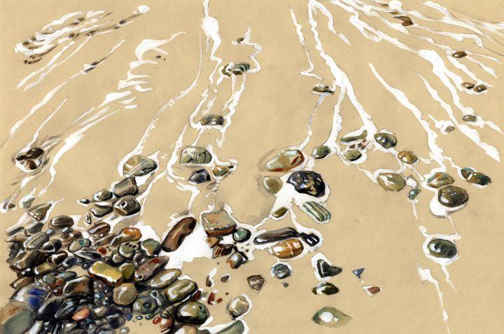 Sand and stones - Ángel Ontalva