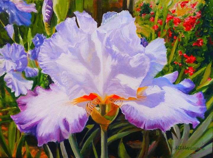 Purple Magic - Marcom Oil Paintings