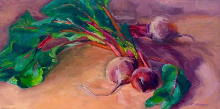 Beet Harvest - Marcom Oil Paintings