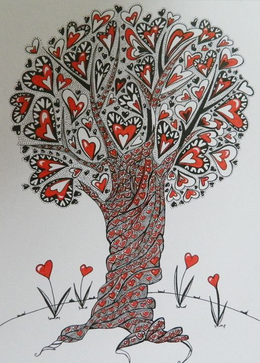 Tree of abundant love - Art by DTG