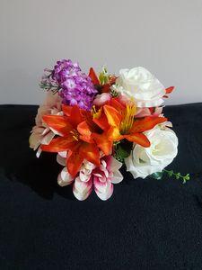 Artificial Flowers Foam SM Basket