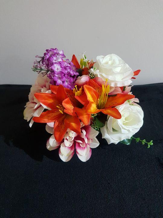 Artificial Flowers Foam SM Basket - RMCreations