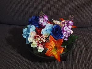 Artificial Flowers Foam LG Basket