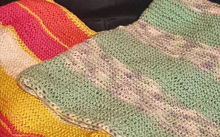 Baby Blankets - Rainbow Magic Backyard Market