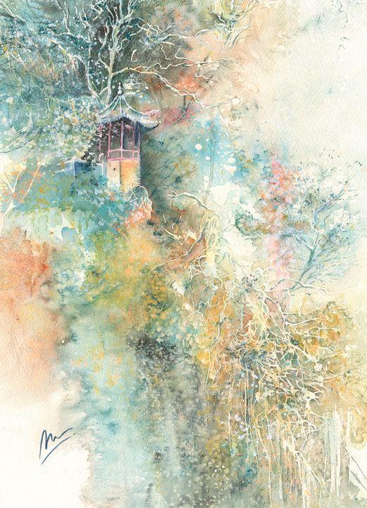 Leshan Hillside, China - Marion Morrison