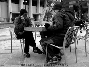 Chess on 16th St. Mall, Denver CO